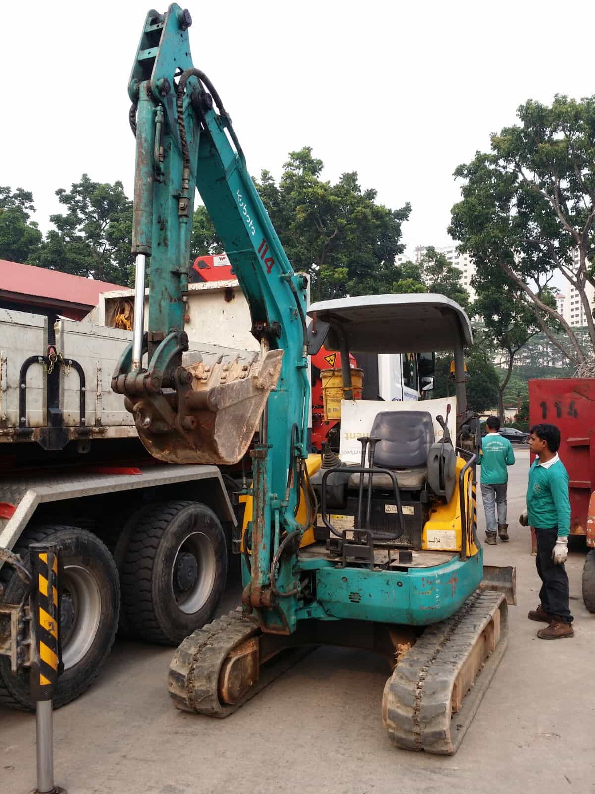 Services | Singland Heavy Machinery & Construction Pte Ltd